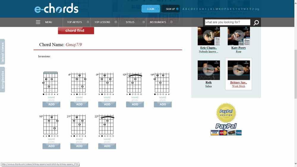 e-chord-c7