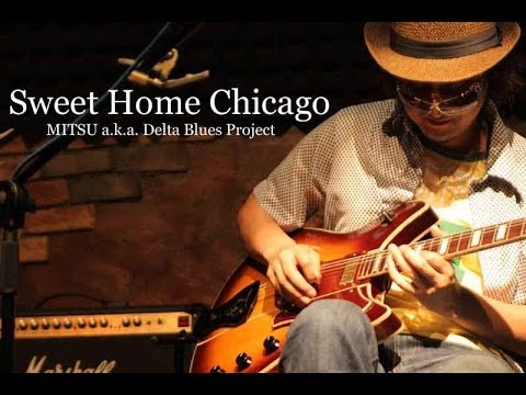 Sweet Home Chicago - Guitar & Piano Cool BLUES !!