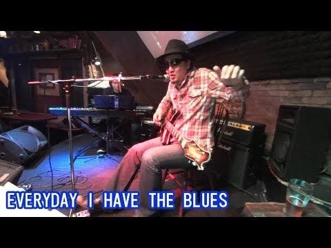 ブルースギター【Everyday I Have The Blues /MITSU a.k.a. DELTA BLUES PROJECT】ギター&ピアノ