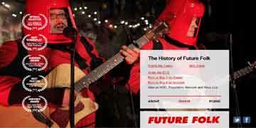 SFコメディ音楽映画【FUTURE FOLK】